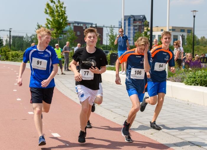 derde onderdeel: hardlopen