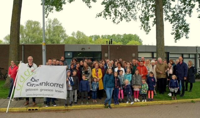 Zondag was voor de leden van de  Graankorrel de eerste bijeenkomst in het nieuwe gebouw.