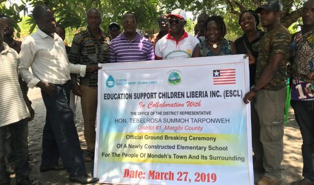 Het project in Mondeh is inmiddels van start gegaan. ESCL werkt samen met lokale leiders.