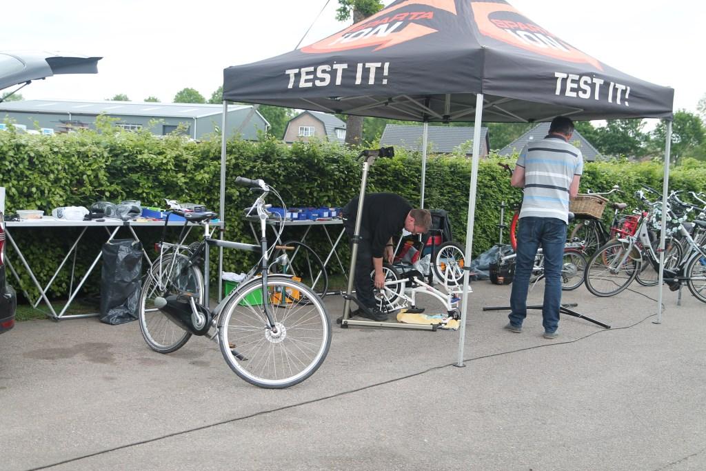 de fietsrepair Hannie van de Veen © BDU media