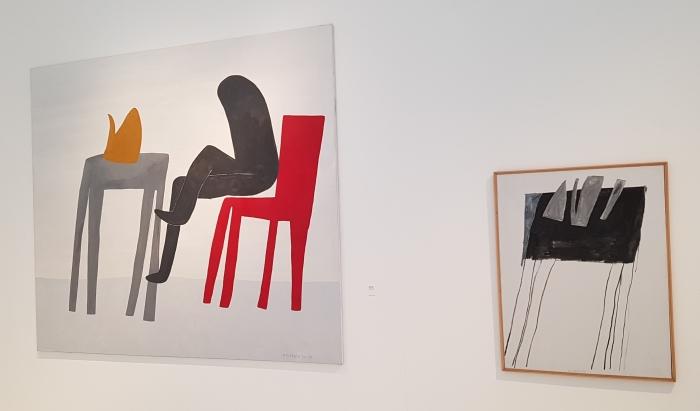 35 werken van Klaas Gubbels worden geëxposeerd.