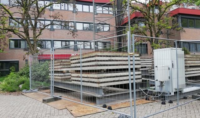 Op het terrein van Rhijnhaeghe lijkt de ontmanteling begonnen