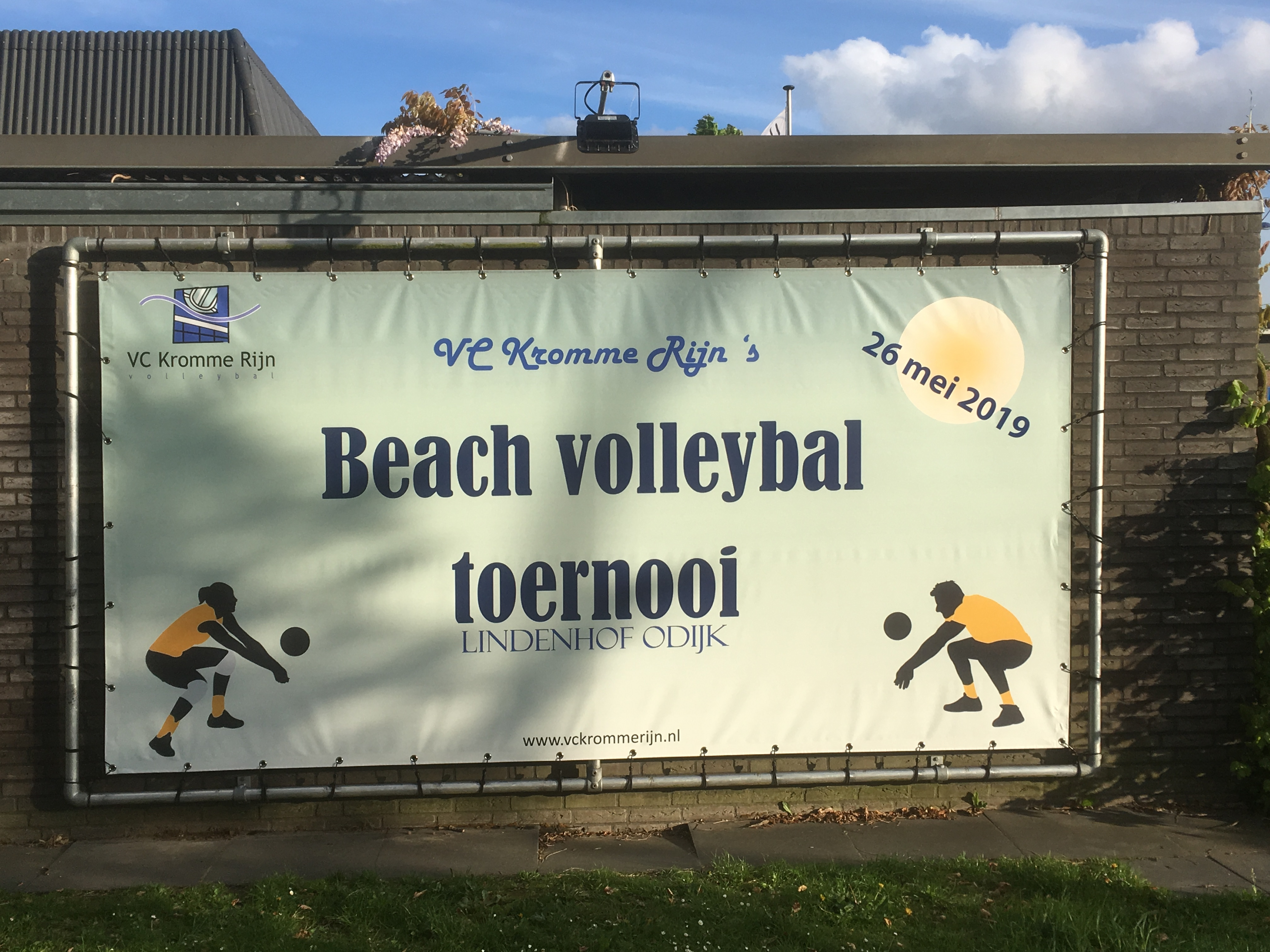 Billboard aan de Lindenhof