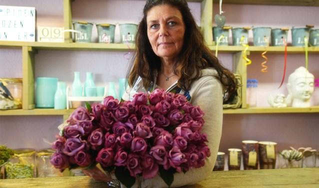 Het 'fröbelen met bloemen' vindt Patricia een van de leukste aspecten van haar vak.