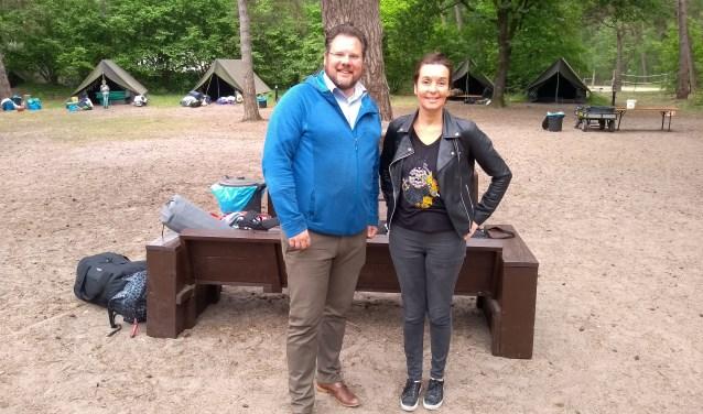 Robèrt Feit en Willeke Lagerweij van YMCA Nederland: ,,Onverwachte kansen voor kansarme kinderen.''