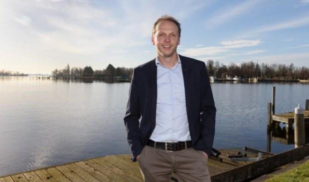 Johan Dekker eigenaar van de Coop in Rijsenhout.