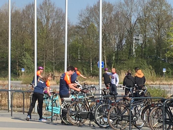 Fietstraining in Barneveld