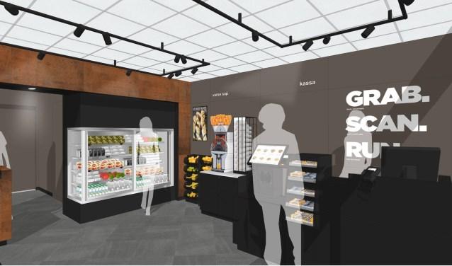 Impressie van de nieuwe winkels op de Nederlandse stations.