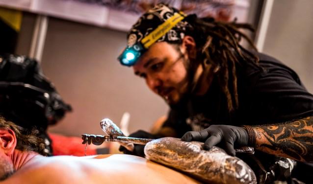 Needle Art Tattoo Convention-editie van vorig jaar