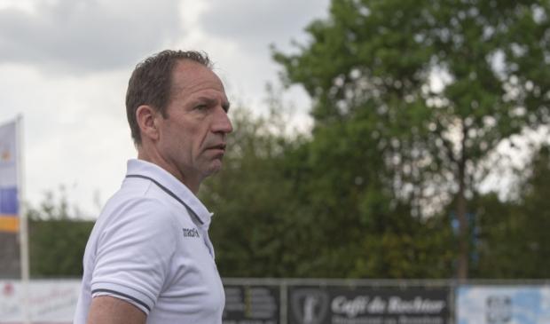 Arnold Brehler, de nieuwe trainer van DTS Ede.