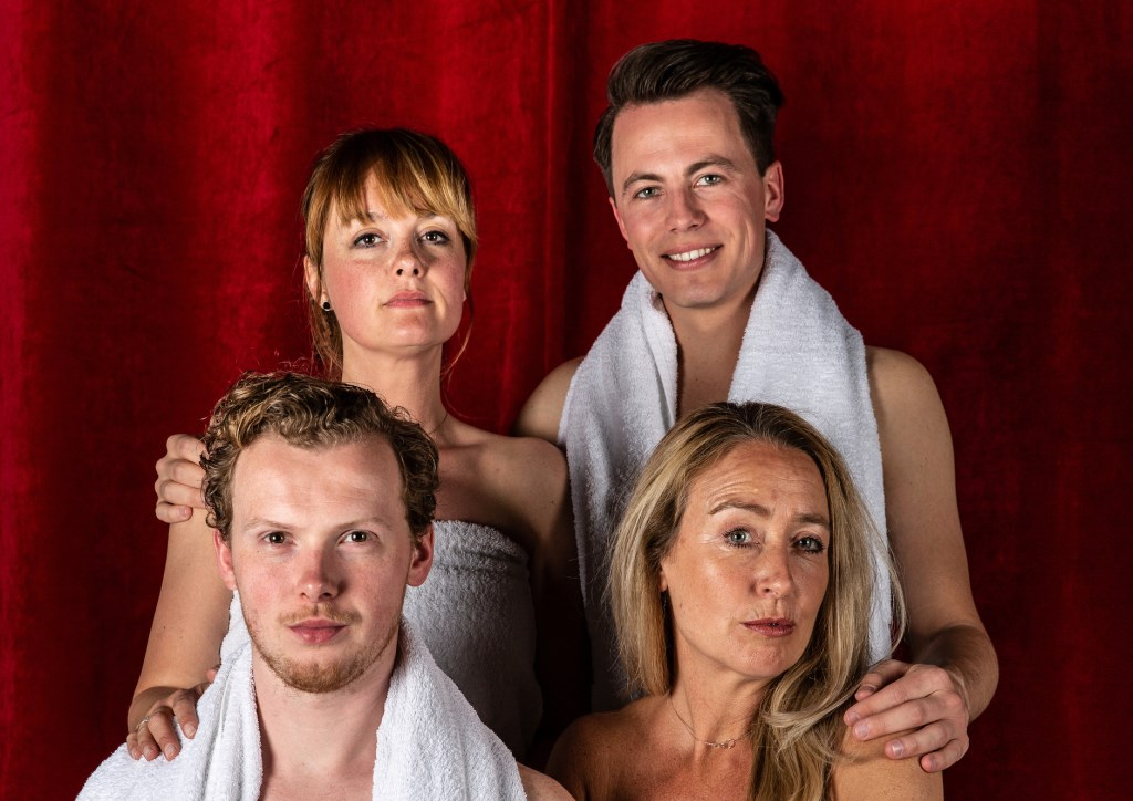 Natalie van Urk, Kevin van den Berg, Maike van Wijngaarden en Jasper Rottier.