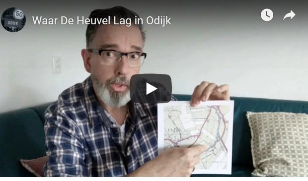 Raymond Uppelschoten brengt de geschiedenis van Odijk tot leven