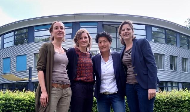 Eva Mainhard, Femke van Veelen, Mariët de Gooijer enHeleen Nauta.