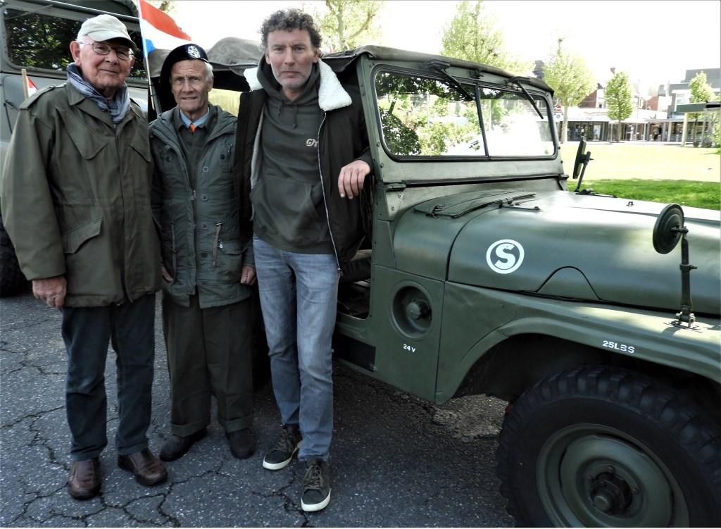 Cor Hoefnagels, Ferry Jacobs en Frank Hoefnagels. Frans Tol © BDU media