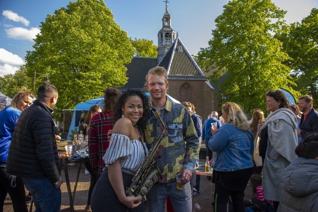 Joris van der Kleij (Jorevents) met Romana Ellen Toledo © BDU media