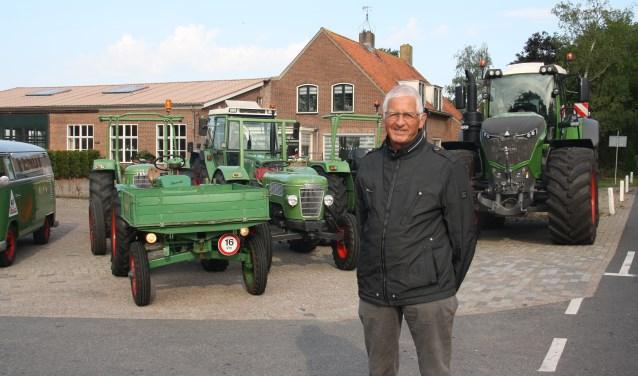"""Volgens Gijs Bokkers is er hier op het gebied van de landbouw weinig veranderd: ,,Nederland is het enige land waar trekkers zonder kenteken rijden."""""""