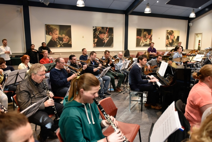 Groot orkest op stoom Theo Bos © BDU Media