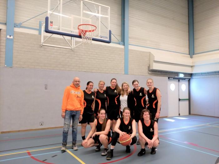 Sparta basketbal damesteam