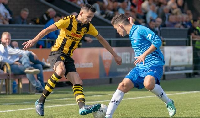 Maurice de Ruiter scoorde vier goals en gaf een assist tegen asv De Dijk in september 2018.
