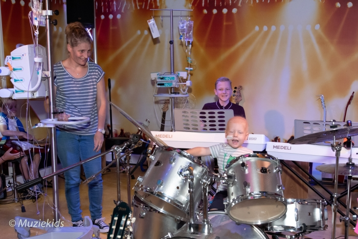 Armin van Buuren Muziekids Studio Prinses Maxima Centrum
