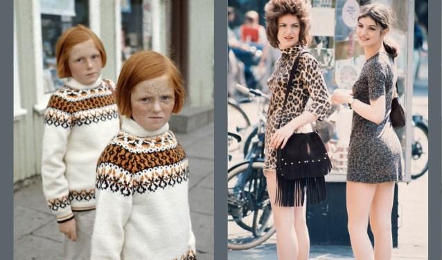 Twee van de foto's van Ed van der Elsken die in Amstelveen te zien zullen zijn.