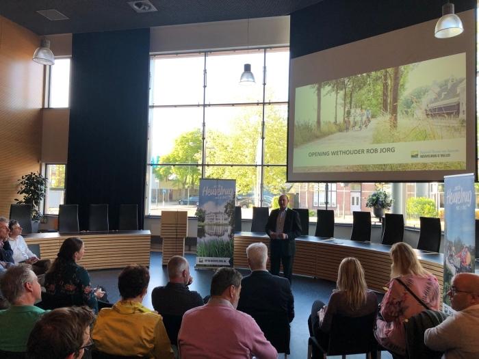 Opening netwerkbijeenkomst door wethouder Rob Jorg