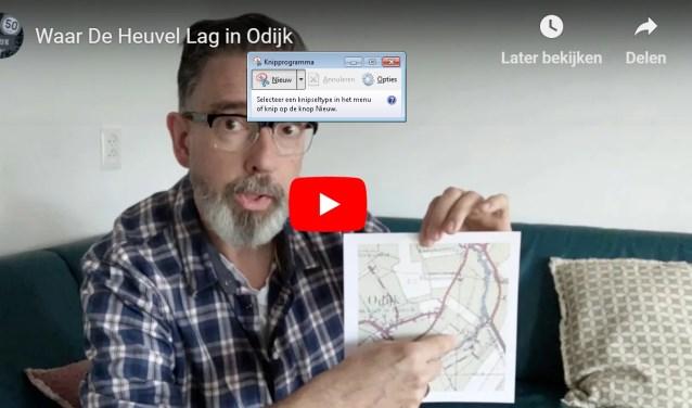 Beeld uit één van de video's over de geschiedenis van Odijk
