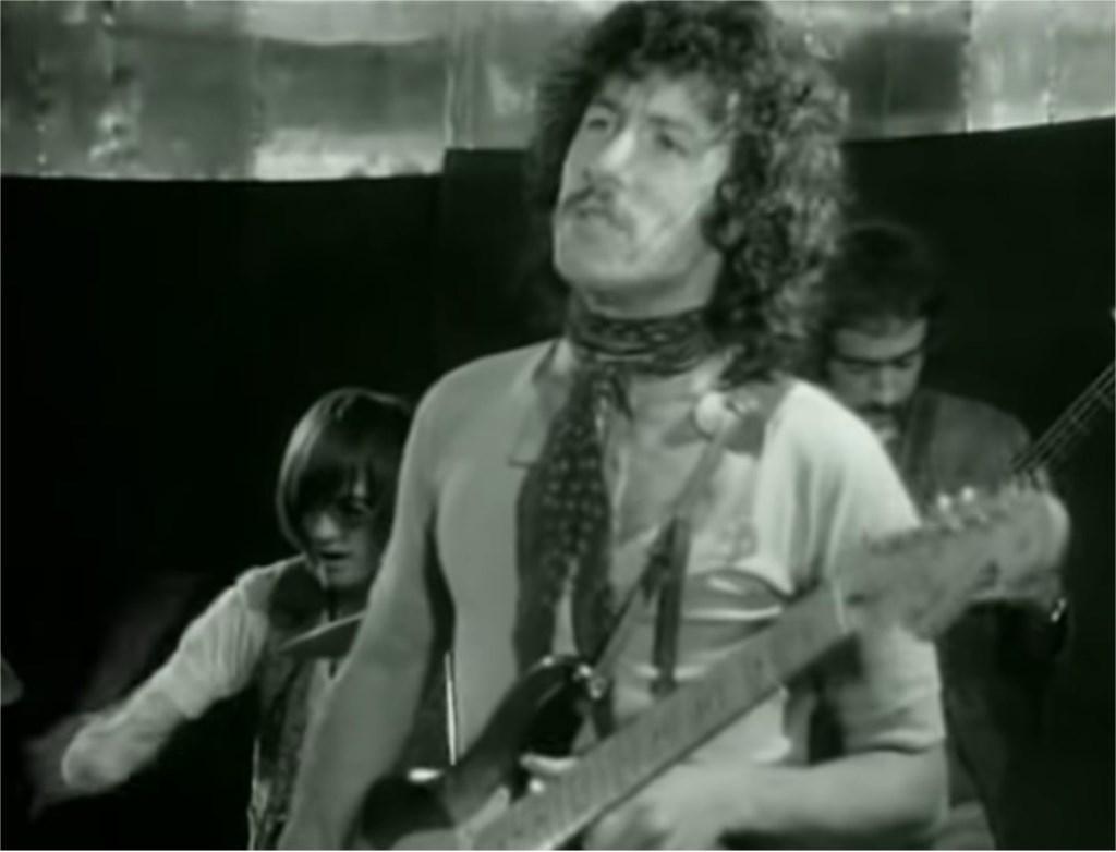 Fleetwood Mac in Nederland in 1968.