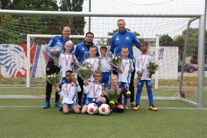 Kampioens Elftal VV SliedrechtJO9-5