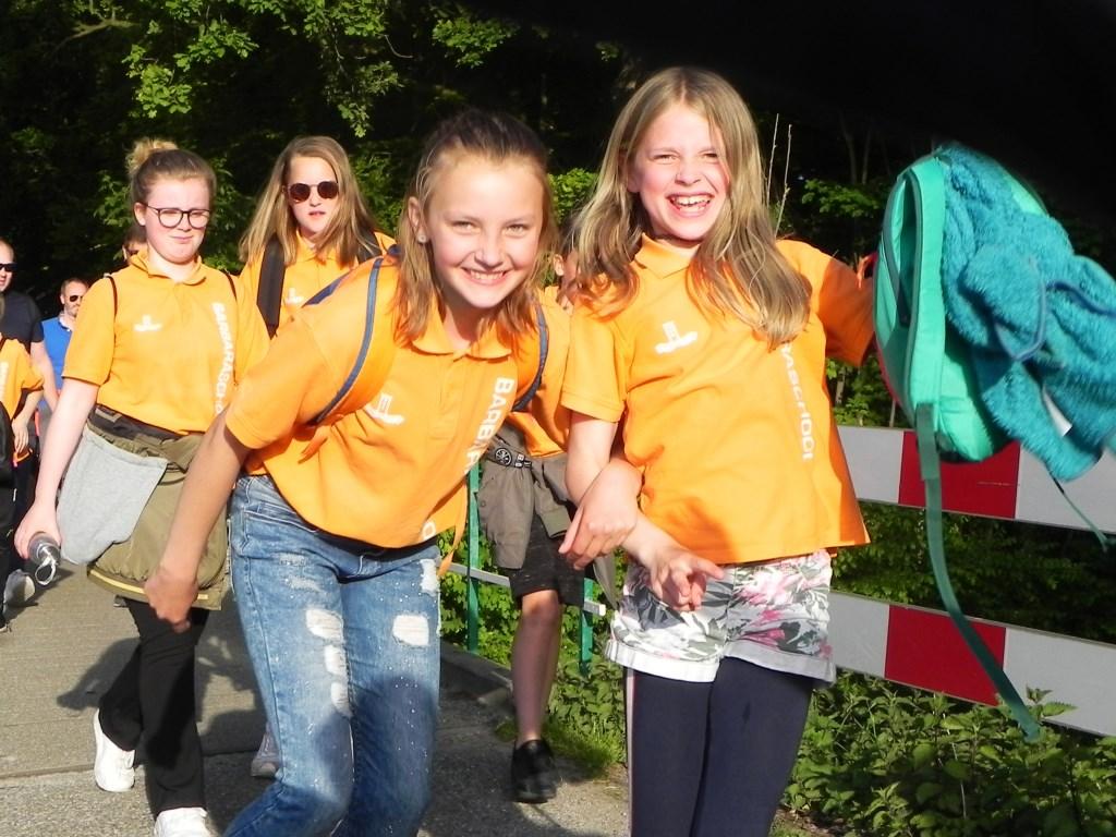 Veel gezelligheid en vrolijkheid bij deze meisjes van de Barbaraschool. Richard Thoolen © BDU media
