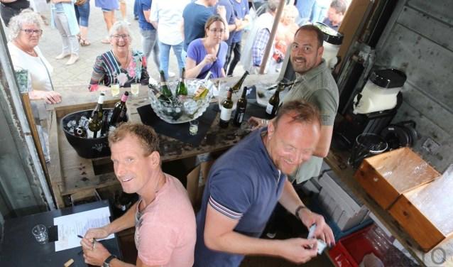 Een ontspannen sfeer kenmerkt het Santpoort Food Fest.