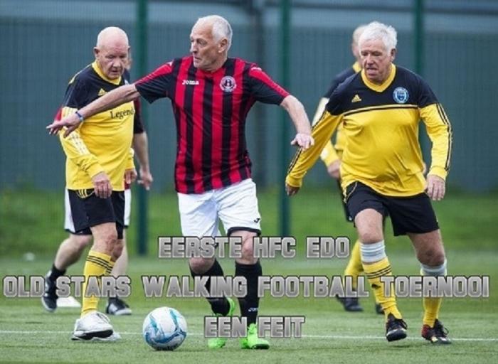 Walking Football Toernooi bij HFC EDO