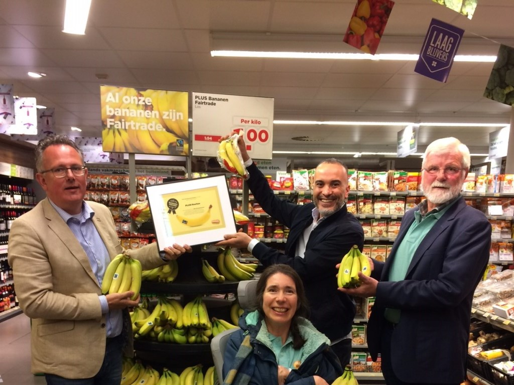 Banana Award voor de Plus  Werkgroep Fairtrade © BDU media
