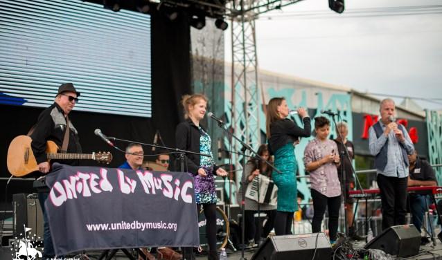 Een optreden van United by Music.