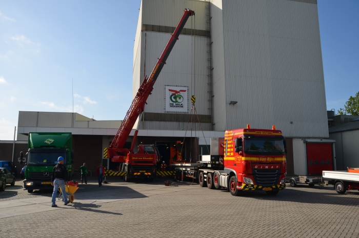 Bouw biologische productielijn Meppel Coöperatie De Valk Wekerom © BDU Media