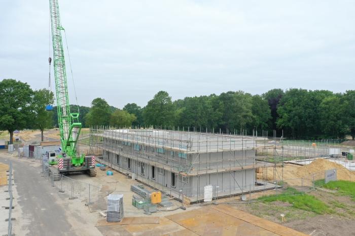 De bouw van Rimpeler is begonnen. Arap-John Tigchelaar © BDU media