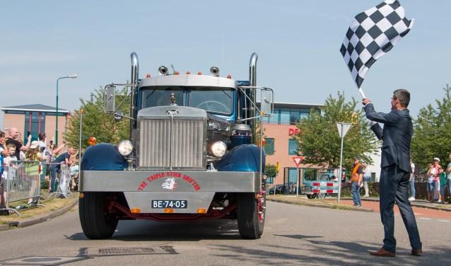 Net als vorig jaar zal burgemeester De Jong het startsein geven voor de Truckersdag 2019