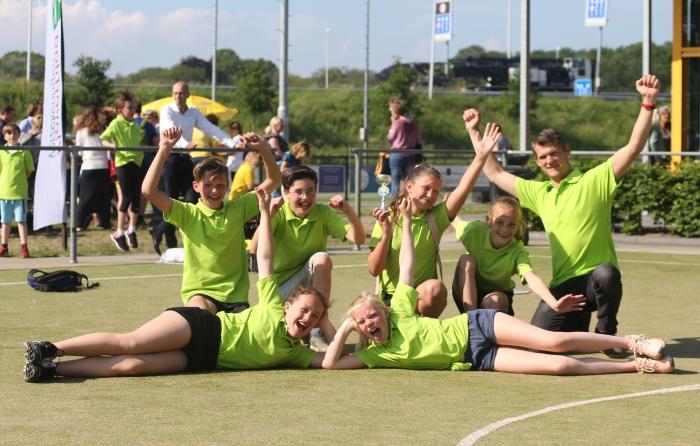 De Uilenburcht Schoolkorfbalkampioen van Driebergen