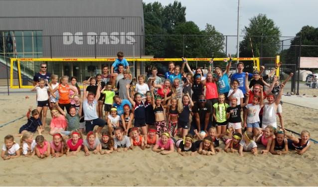 Sliedrecht Sport op het zand.