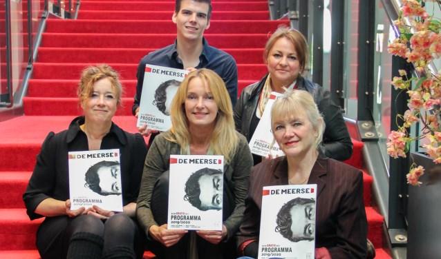 Marketing en Programmering: Dennis Piek, Dinah Bierman, Ellen Witsen Elias, Eugenie Schaefers en Katja Brenninkmeijer