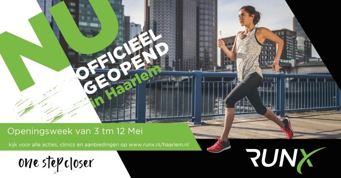 Officiële opening RunX Haarlem