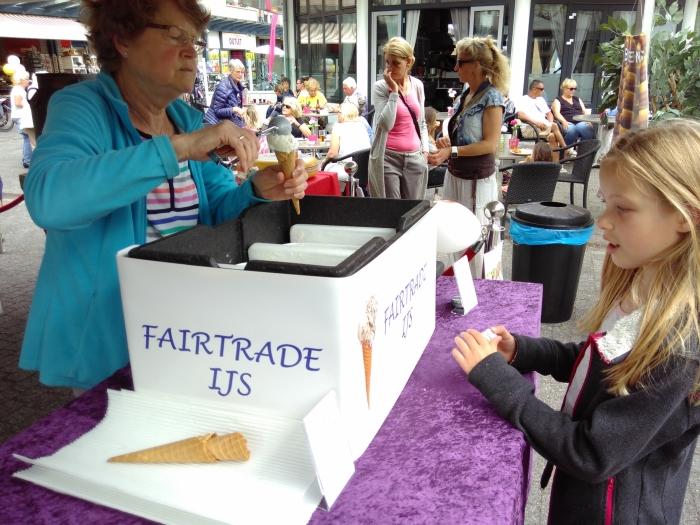 Fairtrade ijs proeven? Kom op 11 mei naar de Hamershof!