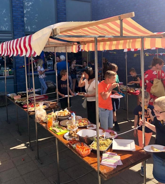 Picknick buffet Basisschool de Vonk © BDU media