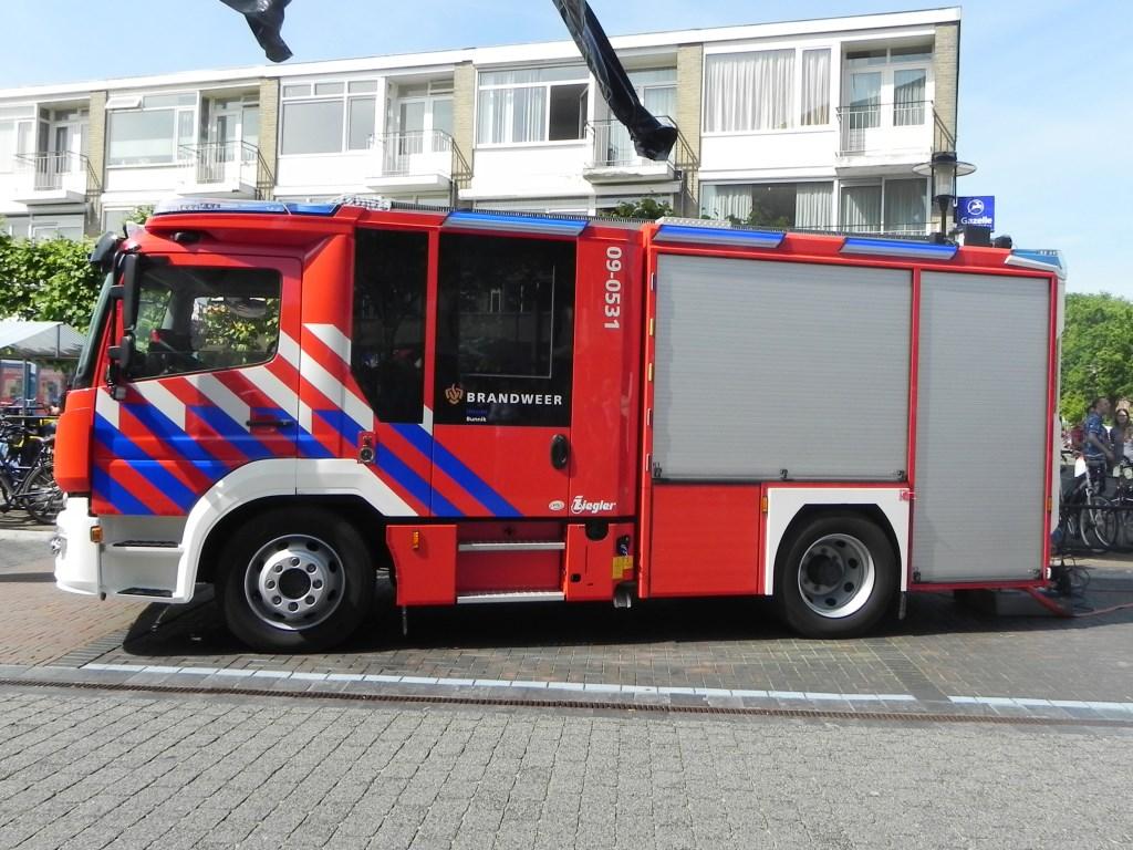 En daar is ie dan: de nieuwe wagen van de brandweer. Richard Thoolen © BDU media
