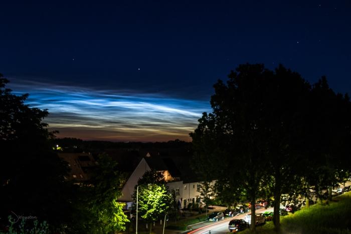 Lichtende nachtwolken boven de Rietkampen Juliette Weusten © BDU Media
