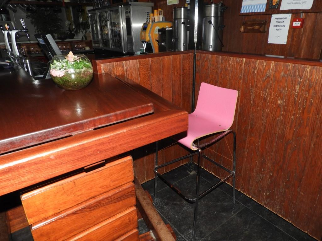 Deze stoel bij DIOS blijft voortaan leeg.  Eigen foto © BDU media