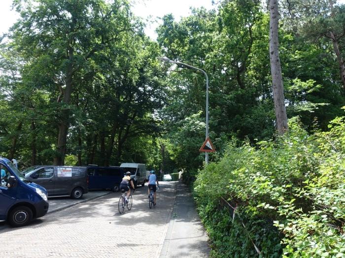De nieuwe straatverlichting op het Kopje van Bloemendaal