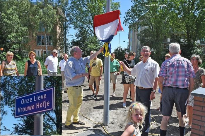 Onthulling Onze Lieve Vrouwe Hofje P.P. Vreeswijk © BDU media