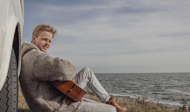 De Driebergse Jim van der Zee brengt in september zijn eerste album uit met zelfgeschreven muziek.