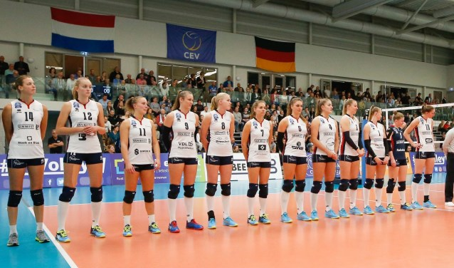 Voor de tweede maal zal de Duitse vlag in sporthal De Basis wapperen.